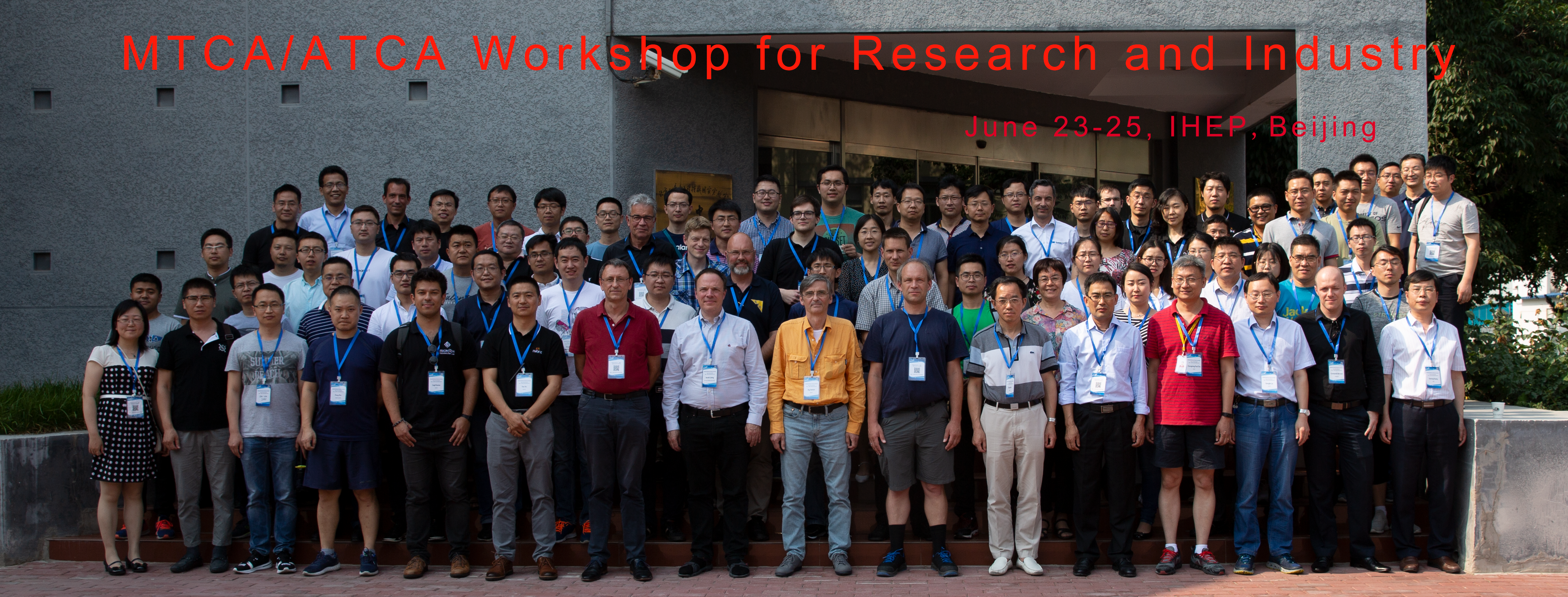 MTCA/ATCA Workshop for Research and Industry (23-June 25, 2019)